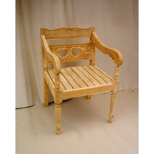 One Allium Way Proulx Teak Patio Chair
