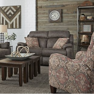 Look for Ribbon Double Reclining Loveseat by Southern Motion Reviews (2019) & Buyer's Guide