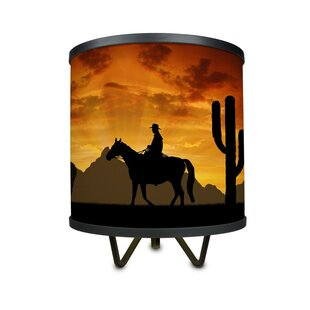 Cowboy and western lamps wayfair cavour western cowboys 1075 table lamp aloadofball Images