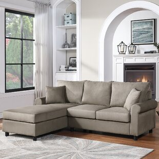 Carters 851 Left Hand Facing Sofa  Chaise by Red Barrel Studio
