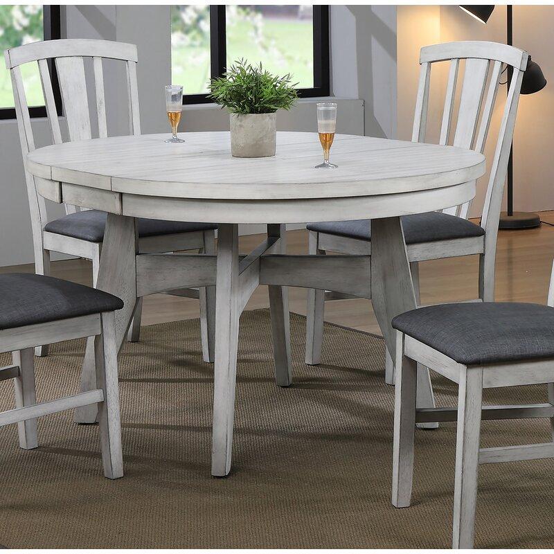 Gracie Oaks Hooten Extendable Dining Table Reviews Wayfair