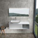 Sherburne 47 Wall Mounted Single Bathroom Vanity by Orren Ellis