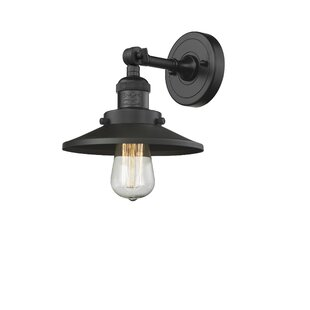 Best Choices Mikesell 1-Light Bath Sconce By Williston Forge