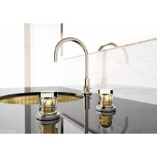 Maestro Bath Atelier Glass Circular Vessel Bathroom Sink