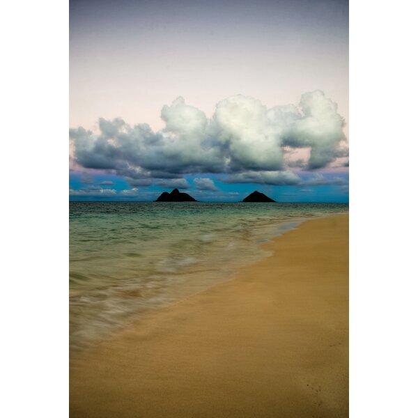 Hadleyhouseco Lanikai Hawaiian Islands By Kelly Wade Photographic Print On Wrapped Canvas Wayfair
