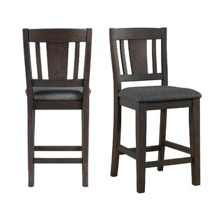 Sorrentino 25.5 Bar Stool (Set of 2) Millwood Pines