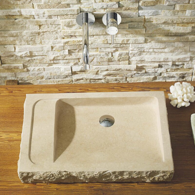 Bathroom Sinks Usa virtu usa orion rectangular vessel bathroom sink & reviews | wayfair