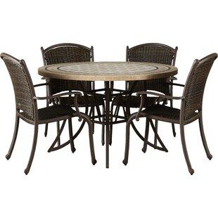 Colucci 5 Piece Dining Set
