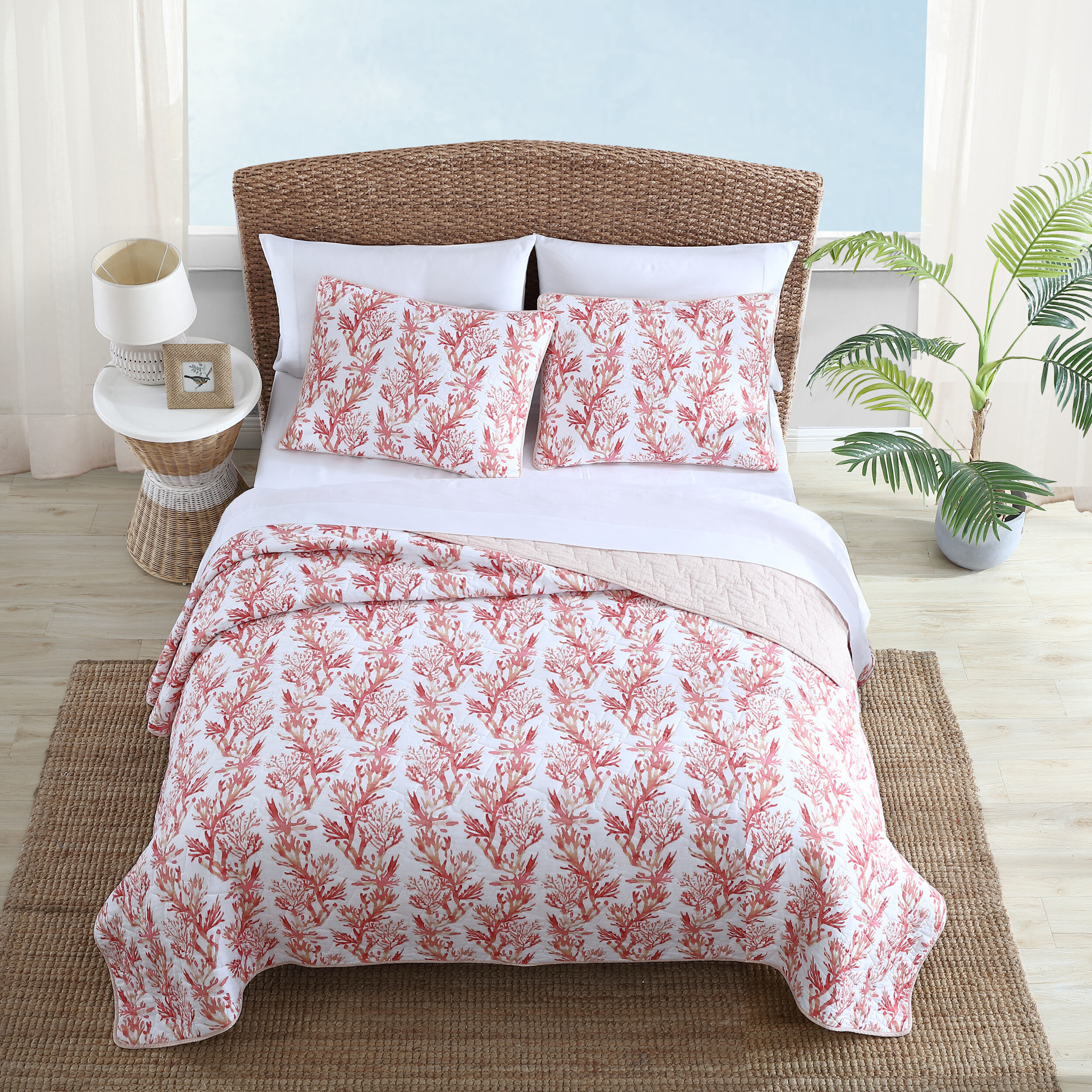 Tommy Bahama Home Sunset Reef Reversible Quilt Set Wayfair
