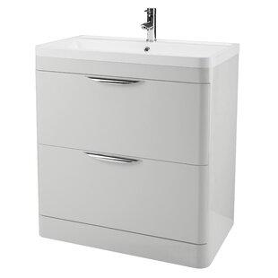 Gibsonia 79.6cm Free-Standing Vanity Unit Base By Belfry Bathroom