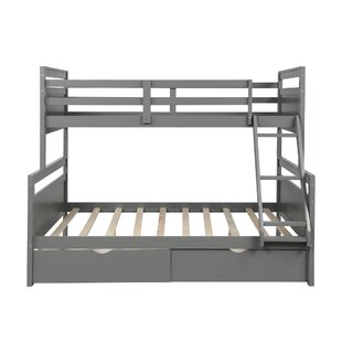Sillitto Twin over Full Bunk Bed with 2 Drawers