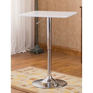 Baxton Adjustable Height Pub Table by Roundhill Furniture