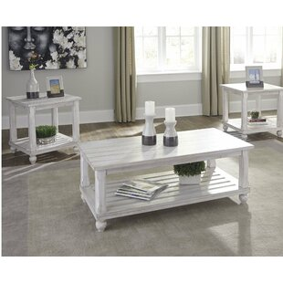 Highland Dunes Auden 3 Piece Coffee Table Set