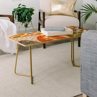Andi Bird Bohemian Coffee Table by East Urban Home SKU:AD996660 Description