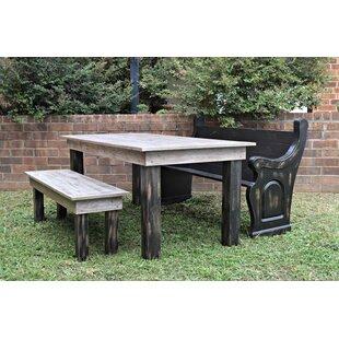 077a24cc8647 Zaragoza Solid Oak Farm Table Garden Bench
