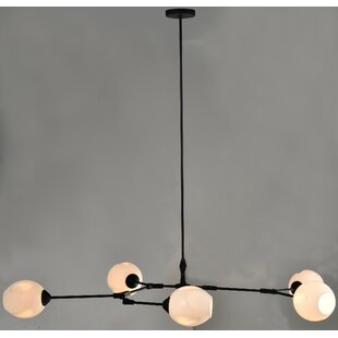 Wrought Studio Beckley 5-Light Sputnik Chandelier
