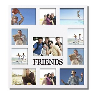 Amett 11 Openings Wall Hanging Collage Picture Frame