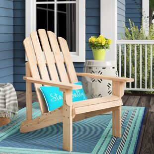 Janes Solid Wood Adirondack Chair