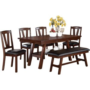 6 Piece Dining Set by A&J Homes Studio