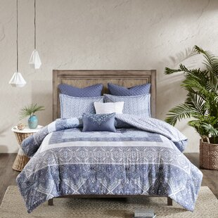 Jaden Cotton 7 Piece Comforter Set by Mistana Today Only Sale