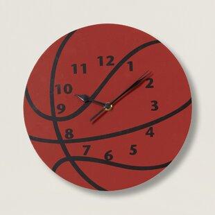 Little MVP 11 Basketball Wall Clock by Zoomie Kids