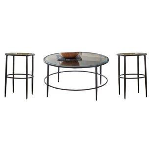 Top Villa Park 3 Piece Coffee Table Set ByBirch Lane™