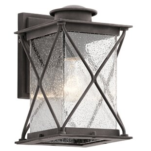 Comparison Kersey 1-Light Outdoor Wall Lantern By Loon Peak