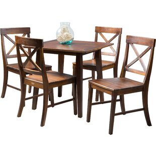 Stembridge 5 Piece Dining Set Winston Porter