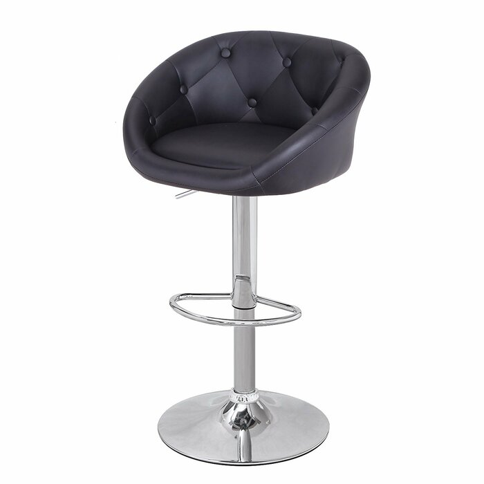 Cool Adjustable Height Swivel Bar Stool Gmtry Best Dining Table And Chair Ideas Images Gmtryco