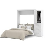 Colquitt Storage Murphy Bed by Zipcode Design™