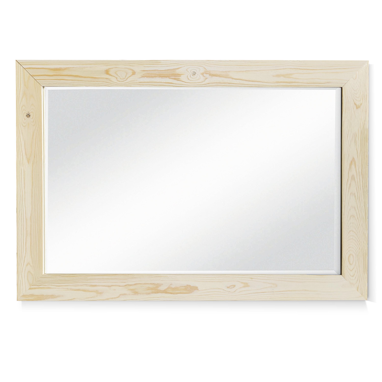 Highland Dunes Woodlake Modern Contemporary Beveled Bathroom Mirror Reviews Wayfair