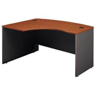 Series C Right Bow Corner Desk Shell