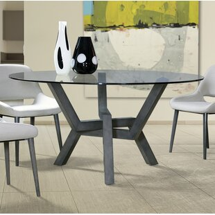 Maselli Glass Dining Table Union Rustic