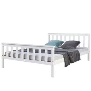 Quintero European Double (140 X 200 Cm) Bed Frame By Brambly Cottage