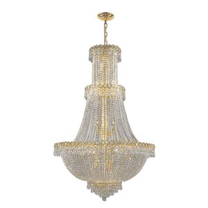 Carson 17-Light Crystal Chandelier