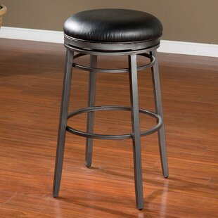 Lafferty 30 Swivel Bar Stool Red Barrel Studio