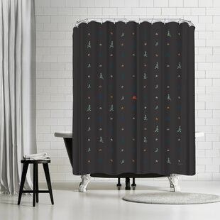 NDTank Camping Single Shower Curtain