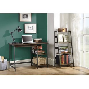 Homestar Gemelli Writing Desk and Bookcase