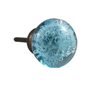 Bubble Glass Round Knob