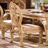 Basche Traditional Solid Wood Dining Chair (Set of 2) by Astoria Grand