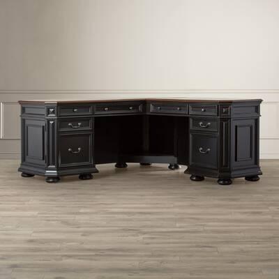 darby home co stina l shaped executive desk reviews wayfair rh wayfair com