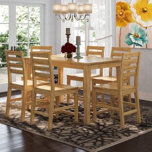 Smyrna 7 Piece Counter Height Pub Table Set Herry Up