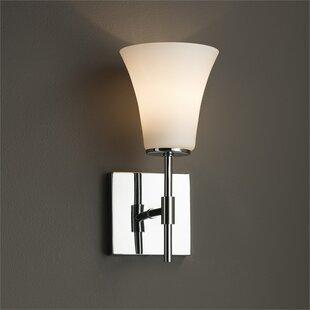 Luzerne 1-Light LED Armed Sconce by Brayden Studio