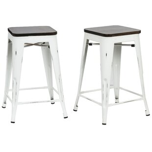 Becerra 24 Bar Stool (Set of 2) by Williston Forge