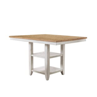 Krueger Counter Height Dining Table by Rosecliff Heights