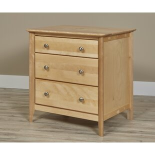 Dellbrook 3 Drawer Nightstand