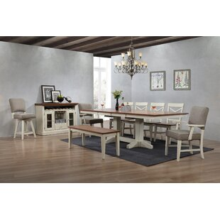 Hayden Trestle Dining Table Ophelia & Co.
