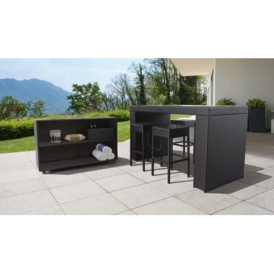 Tegan 7-Piece Bar Set by Sol 72 Outdoor Discount
