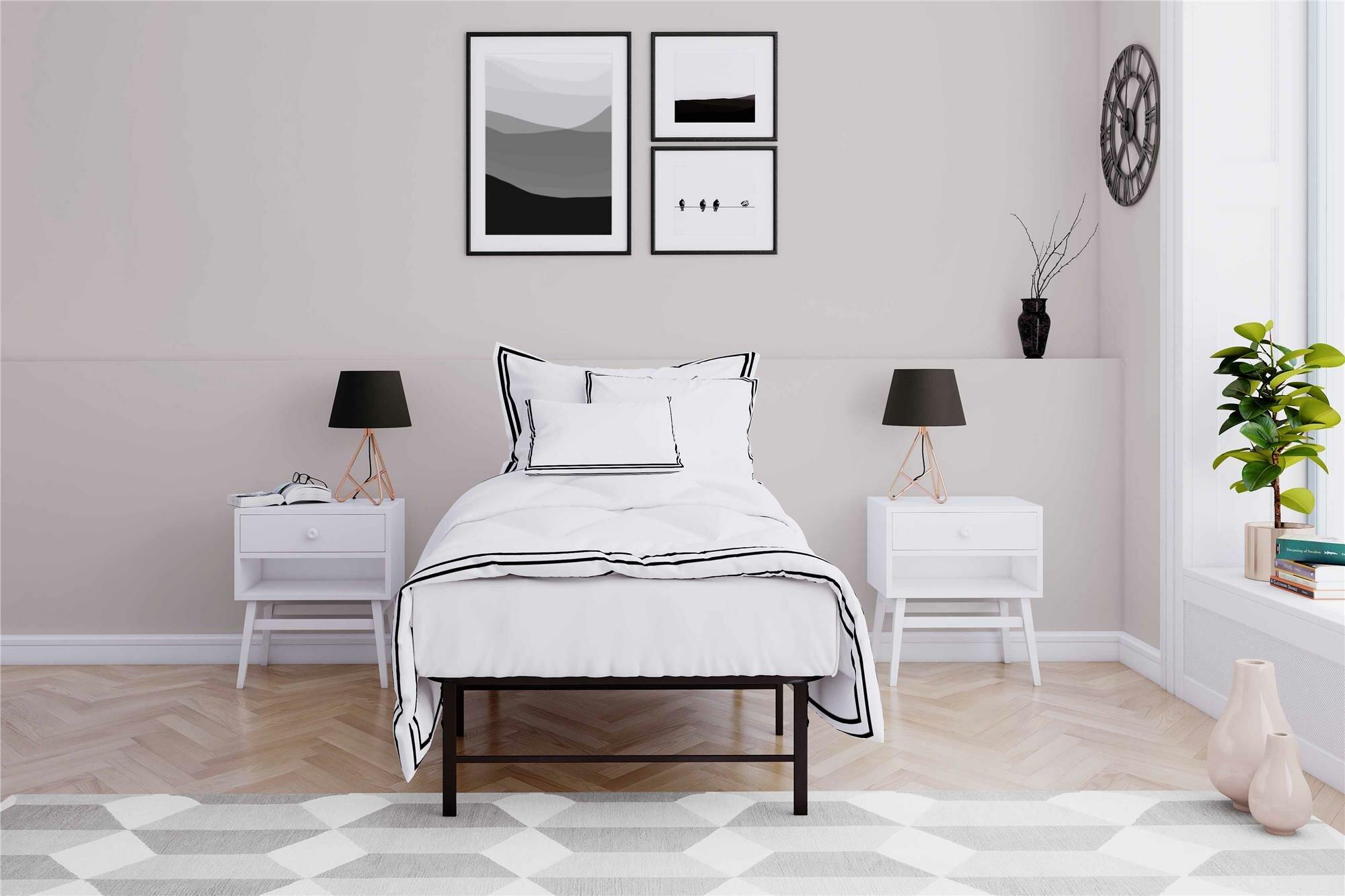 Alwyn Home Metal Platform Bed Frame Reviews