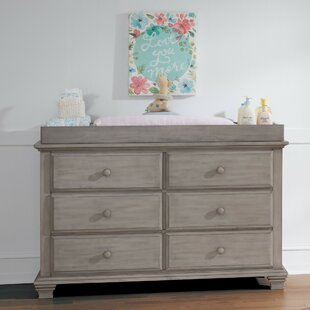 Tetbury 6 Drawer Double Dresser by Harriet Bee